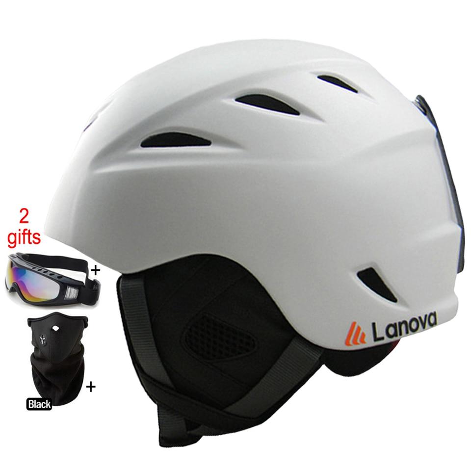 ФОТО Outdoor Sports Ski Helmet Ultralight  PC+EPS Skiing Helmet Snowboard/Skateboard Helmet CE Certification