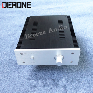 Image 4 - power amplifier case shell amp chassis aluminum with konb RCA binding post feet audio  diy box
