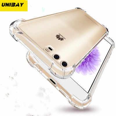 أونيباي الأصلي هواوي P10 حافظة شفافة شفافة p10 زائد مرنة لينة جرابات من البلاستيك المطاطي لهواتف هواوي p10 p10 Plus غطاء مقاوم للصدمات