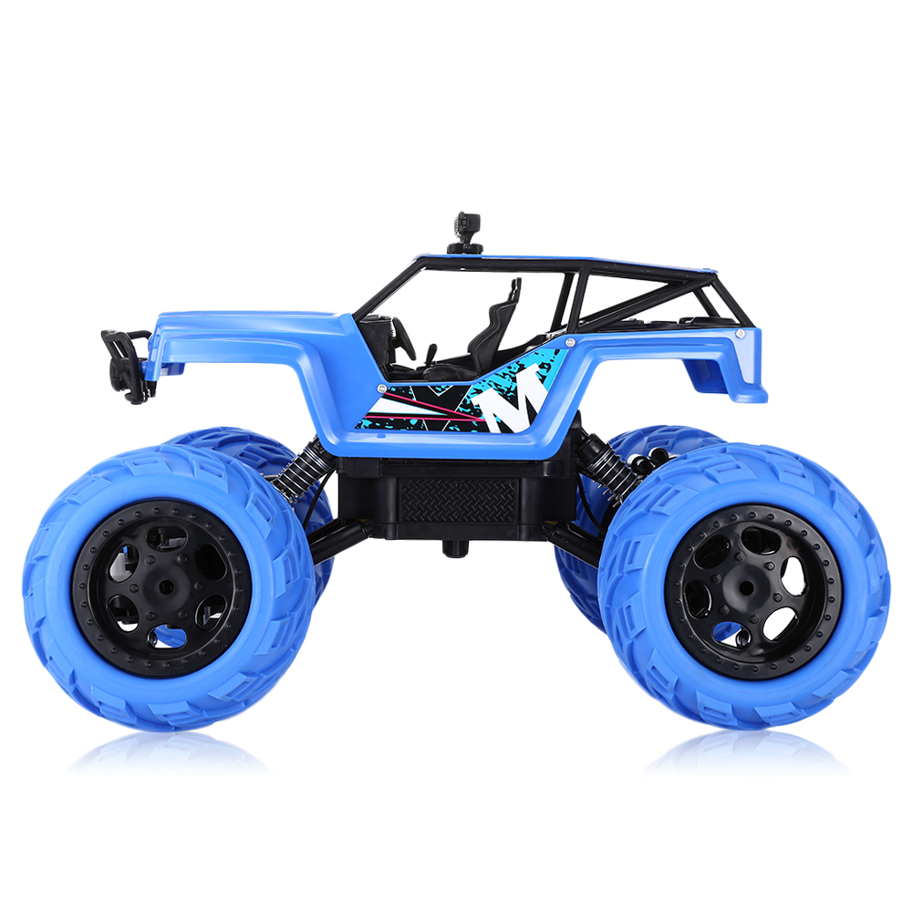 Flytec 1:12 2.4G 4WD RC Cars Truck Brushed High Speed Climbing RC Car Off-road Load Performance Dual-drive Motor Toy Vehicles
