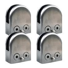 12X Нержавеющая сталь Стекло зажим держатель для окна балюстрады поручня 52*43*24 мм Лучшие продажи