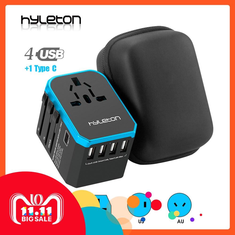 Hyleton reise adapter Universal Power Adapter Ladegerät weltweit adapter wand Elektrische Stecker Steckdosen Konverter für handys