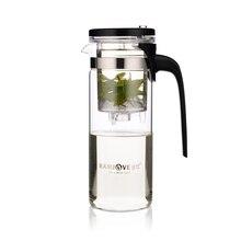 Kamjove k-110 elegante blume tee glas tasse/topf mit kostenloser versand
