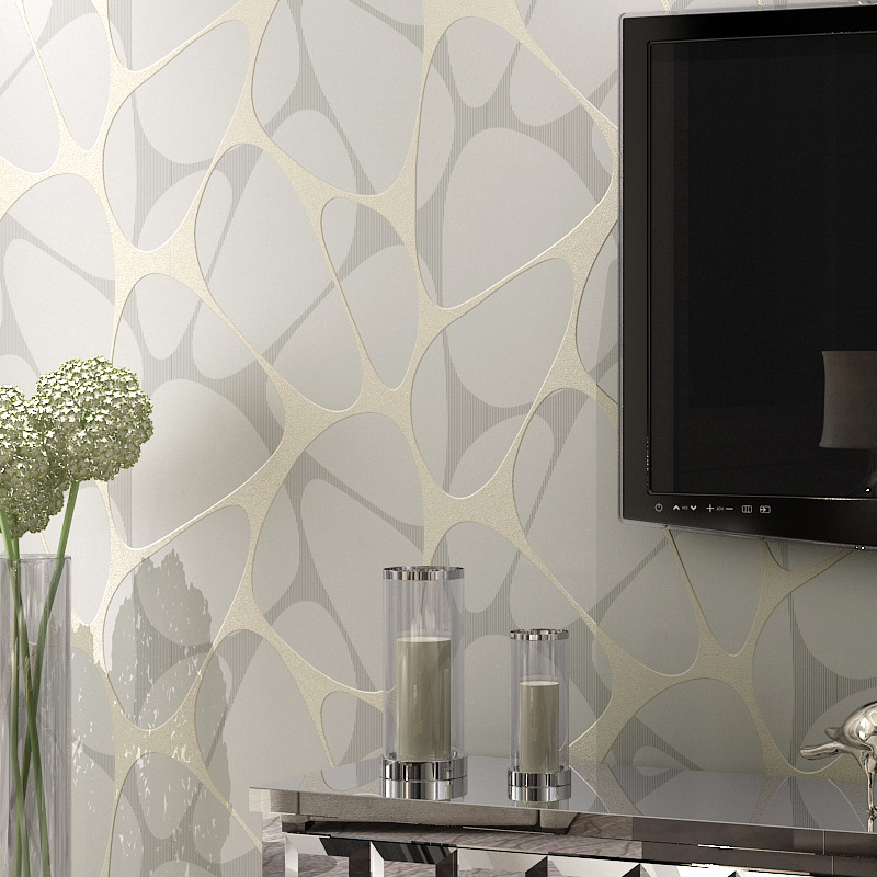 Geometric Wallpaper Modern for living room Non-woven wall paper roll wallpaper for walls 3d Wall mural papel de parede para sala beibehang embossed damascus non woven wall paper roll modern designer papel de parede 3d wall covering wallpaper for living room