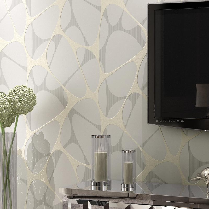 geomtrico moderno papel tapiz para sala de estar no tejida rollo de papel de pared papel