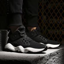 Mens shoes summer breathable mesh upper 2018 new Korean version of the fashion all wear sneakers