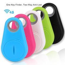 Wi-fi Bluetooth Good Anti Misplaced Tracker Pockets Baby Key Finder Misplaced Factor Receiver Sensor Alarm Locator GPS