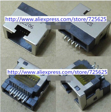 RJ45 Module Network Jack for laptop Founder R415IU R416IG Hedy H461 Notebook LAN Network Jack Connector