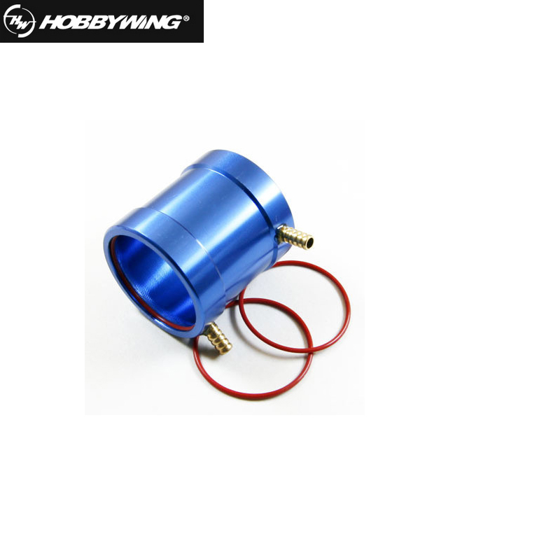 Hobbywing SEAKING water cooling jacket water-cooled tube cover for motor 2040 2848 3660 Tube-2040 2848 brushless motor water cooling jacket hobbywing 60a dual direction esc for 40 60cm rc racing o yacht boat cat catamaran
