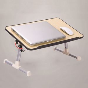 Image 5 - Simple Laptop Table Bed Desk Students Dormitory Reading Studying Desk Folding Lifting Computer Desk Small Table
