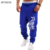 Mens Corredores Pantalon 2017 Masculinos Hombres de la Marca Pantalones de Cordón Cartas Impreso pantalones de Chándal Basculador 2XL FGU