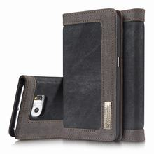 For Coque Samsung Galaxy S6 Case Wallet Leather Flip Cover Samsung Galaxy S6 Edge Case Luxury