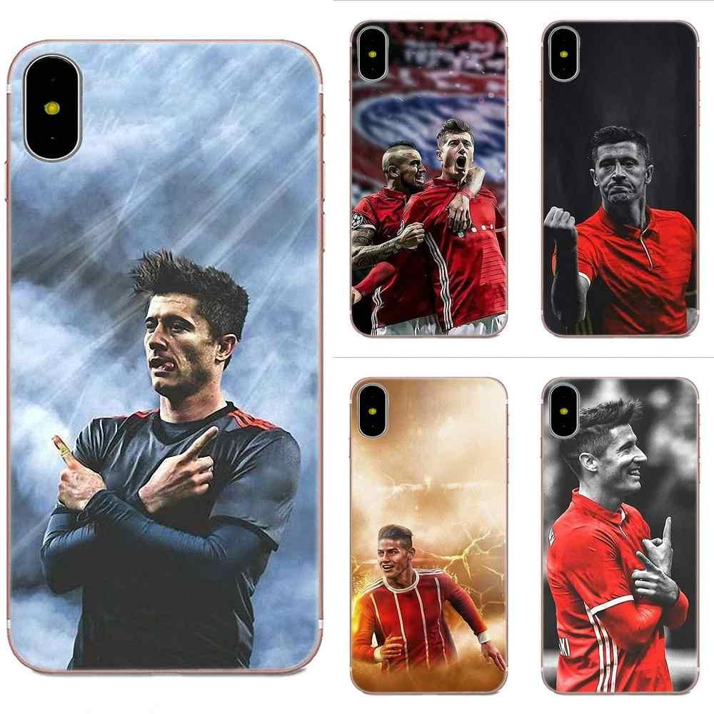 Football Lewandowski Soft TPU Cell Phone Cover Case For Huawei P8 ...