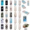 Para iphone 6 s case celular case silm macio padrões coloridos imd tpu tampa traseira case para iphone 6 6 s 4.7 polegadas