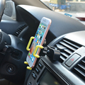 Slot de cd carro universal air vent cobao 2 em 1 stand holder smartphone ajustável montar titular para apple iphone 5 se 6 7 plus meizu