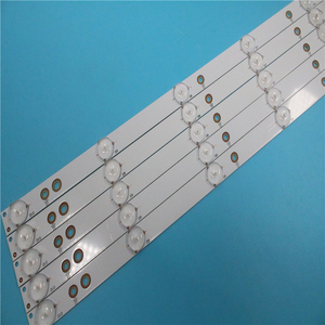 Image 2 - 新しいキット 5 個 10LED (3 V) 842.5 ミリメートル LED バックライトストリップ 43PFT4131 43PFS5301 GJ 2K15 430 D510 GJ 2K16 430 D510 V4 01Q58 A
