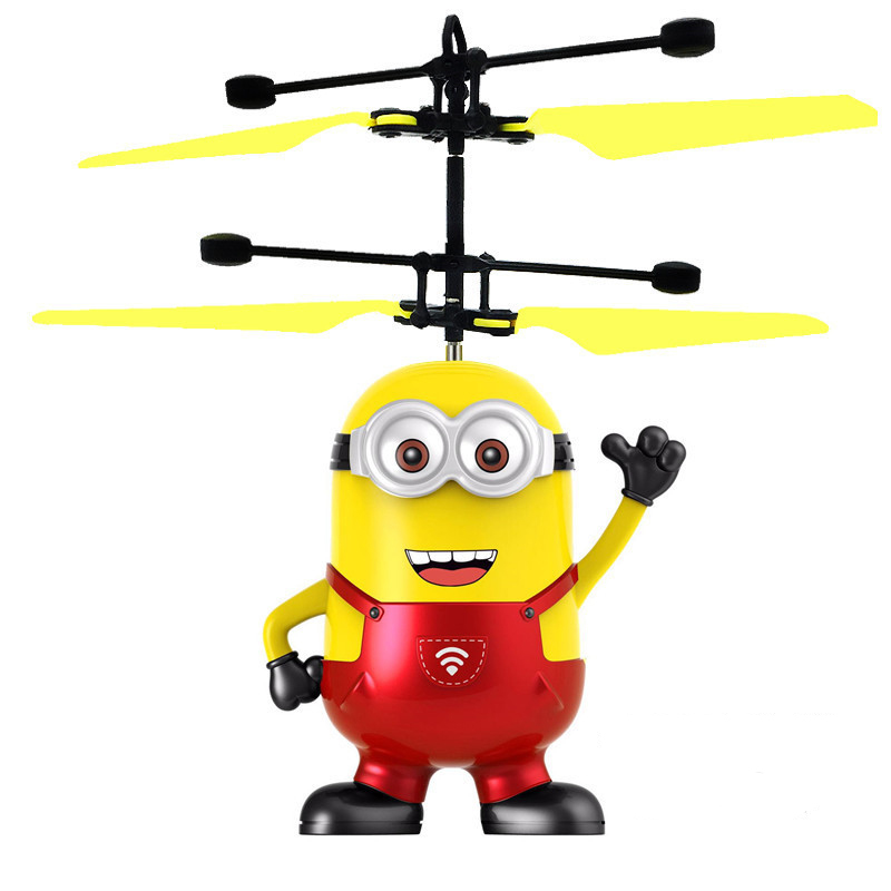 Action Figure Drone RC Helicopter Kids Toys Quadcopter Childrens Gifts Drones Outdoor Juguetes Xmas Toy