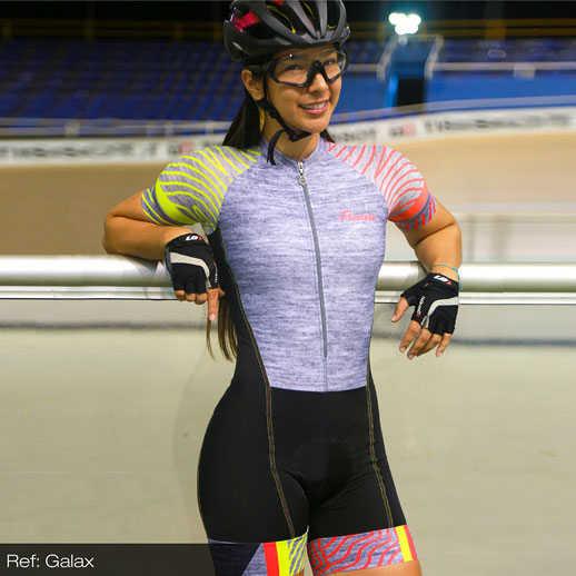 2019 Wanita Lengan Pendek Seksi Tubuh Tim Tri Skinsuit Peralatan Kustom Bersepeda Pakaian Ciclismo Maillot Bersepeda Triathlon