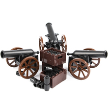 HOT Military Army Roman Soldiers Medieval Cannon Weapons Model Parts Building Block toy Medieval Cannon Accessories Model blocks ароматическая лампа посуда cannon xuan
