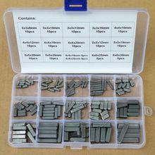 Круглый конец перо ключ приводной вал параллельные ключи 3 4 5 6 мм Ассортимент Комплект