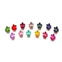 60pcs Women Girl Kids Mini Hair Claw Clips Flower Bangs Pin Accessories