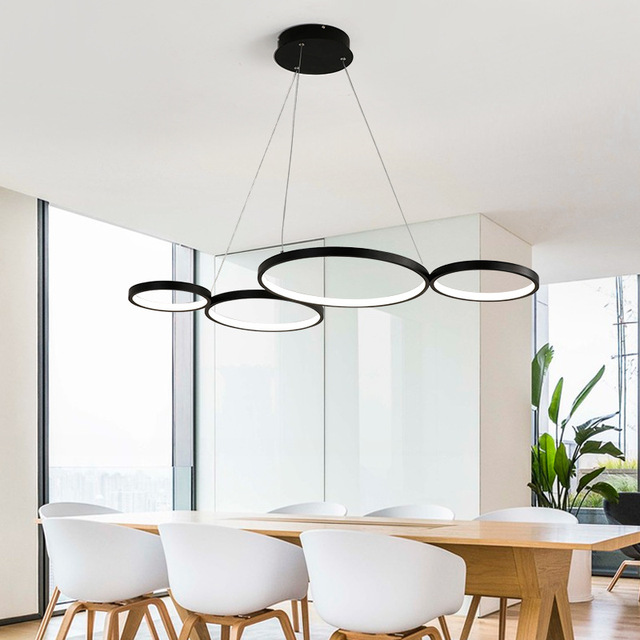 LukLoy Led Creative Pendant Light Modern Simple Personality Nordic Pendant Light for Cafe/ Car/ Office /Living Room /Hotel