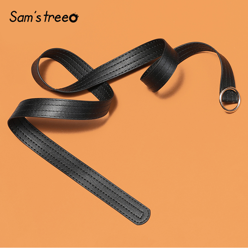 Sam's Tree Detachable Waist Belts Chain Punk Trendy Women Belts Lady Fashion Silver Pin Buckles Leather Waistband Jeans