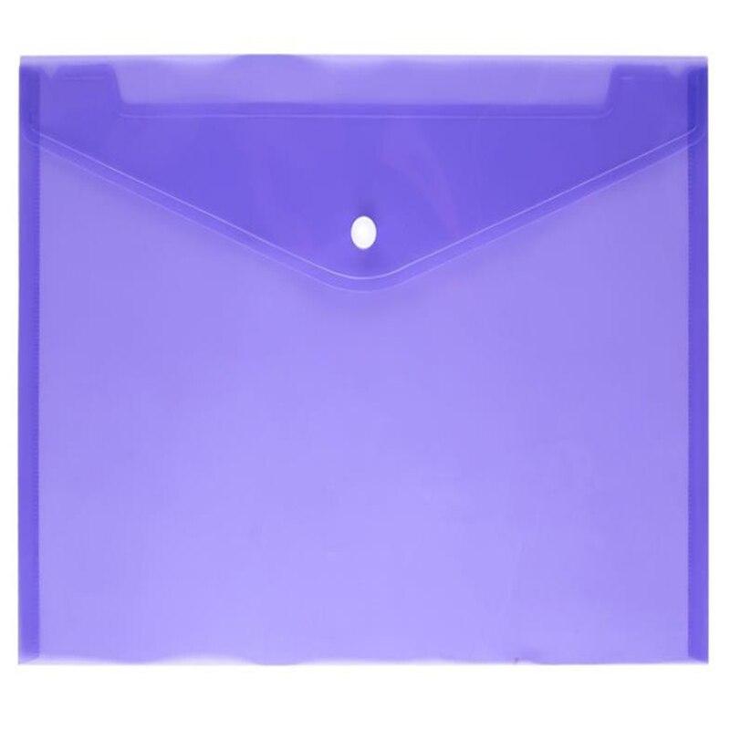 Купить папка для документов с прозрачными кнопками а4 бумажная папка