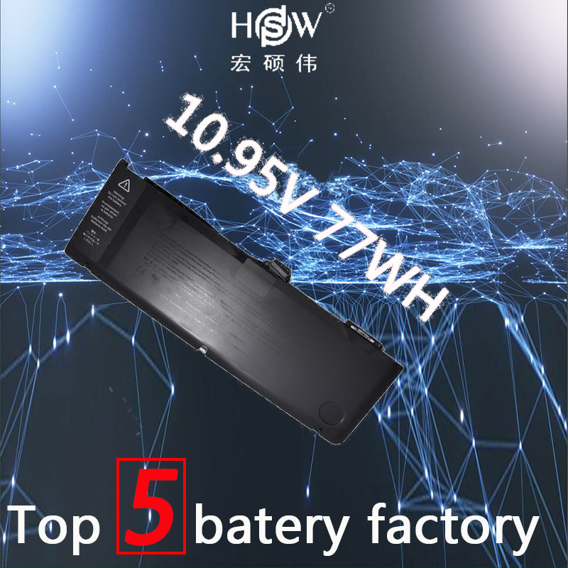 HSW laptop battery for APPLE A1382,020-7134-01,661-5844 MC723LL/A & MC721LL/A A1286 for Macbook Pro 2011 version bateria akku hsw laptop battery for apple a1297 macbook pro 2009 2010 not for 2011 model a1383 mb604ll a mc226ll a mc024ll a mc725ll a