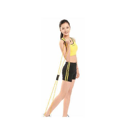 フィットネス機器抵抗バンド図 8 運動チューブ yoga ワークアウト黒卸売送料無料麒麟スポーツ