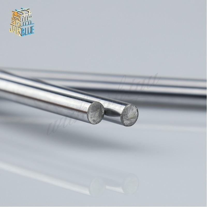 купить Free shipping 16mm - L400mm chrome plated Cylinder Linear Rail Round Rod Shaft Linear Motion Shaft по цене 1634.41 рублей