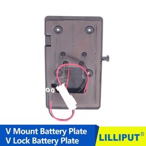 Image 2 - 14.8 v BP Batterij Adapter V Mount Plaat V lock Batterij Pinch voor DSLR Video HDMI Camera 4 K Monitor, LED Light Panel Doos