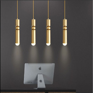 Image 3 - Moderne Nordic AMBIT Hanglampen Denemarken Gekleurde Macaron Aluminium LED hanglamp Keuken Restaurant Licht Plafond Armaturen