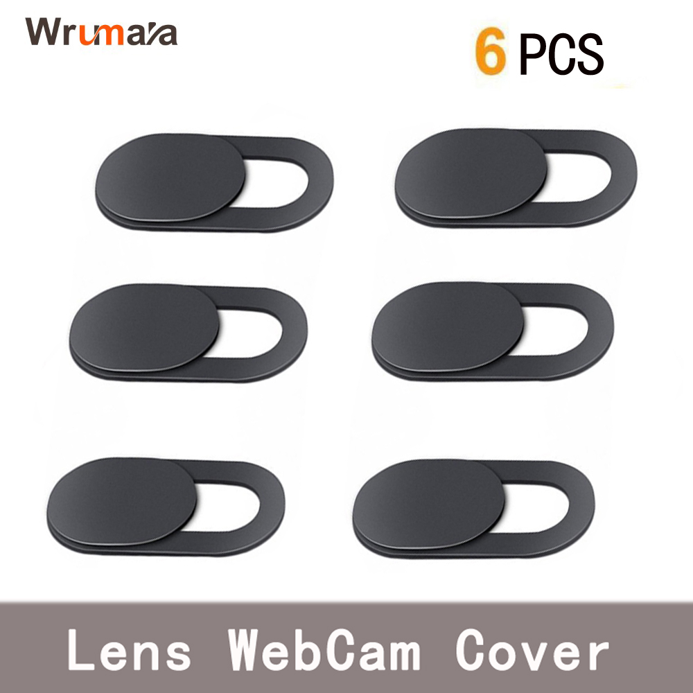 Wrumava 6 pcs ultra thin plastic lid button cursor video cover of the camera lens for ipad laptop sticker phone privacy in Mobile Phone Lens from Cellphones Telecommunications