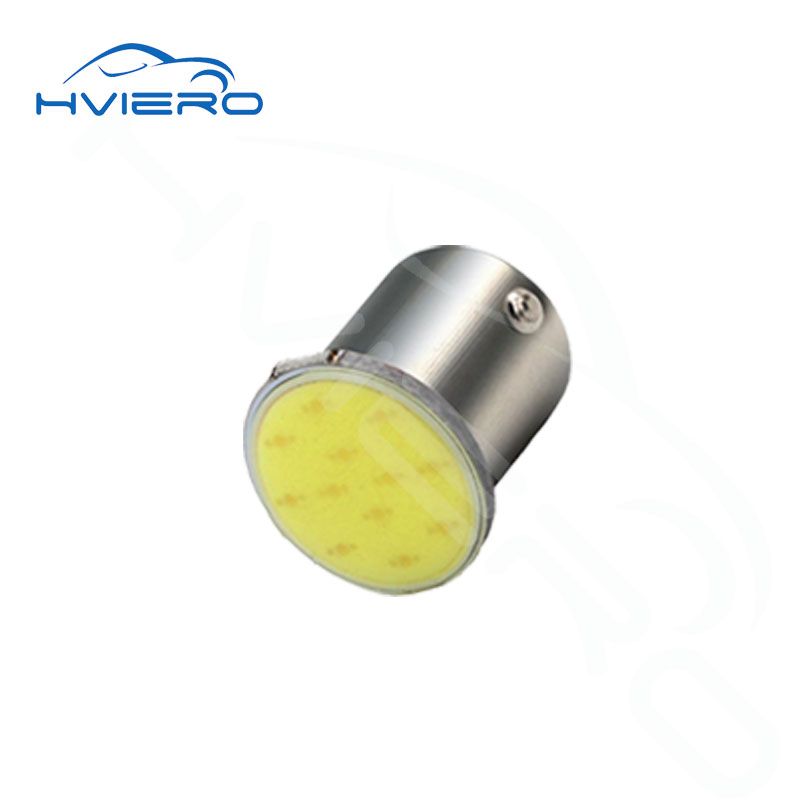 1PCS 1156 BA15S P21W 12V Chips LED COB Bulb For Auto Car interior Backup Tail Turn Signal Lights Parking Reverse Lamp White A 2x 1156 ba15s p21w w cree chips q5 5w white led car reverse bulb for alfa romeo 155 156 164
