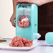 New Design Home Manual Meat Grinder With Creative 6 Stainless Steel Blades Multifunctional Meat Mincer Vegetable Chopper