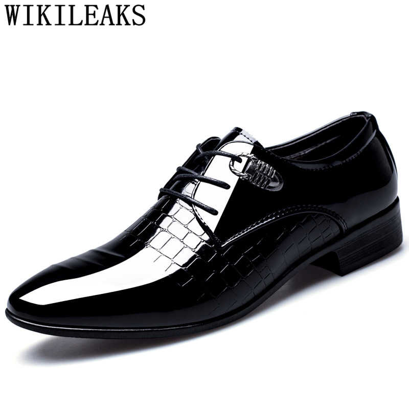 Marca de designer sapatos de crocodilo dos homens sapatos de vestido homem sapatos de casamento formal homens calzado hombre heren schoenen zapatos oxford hombre