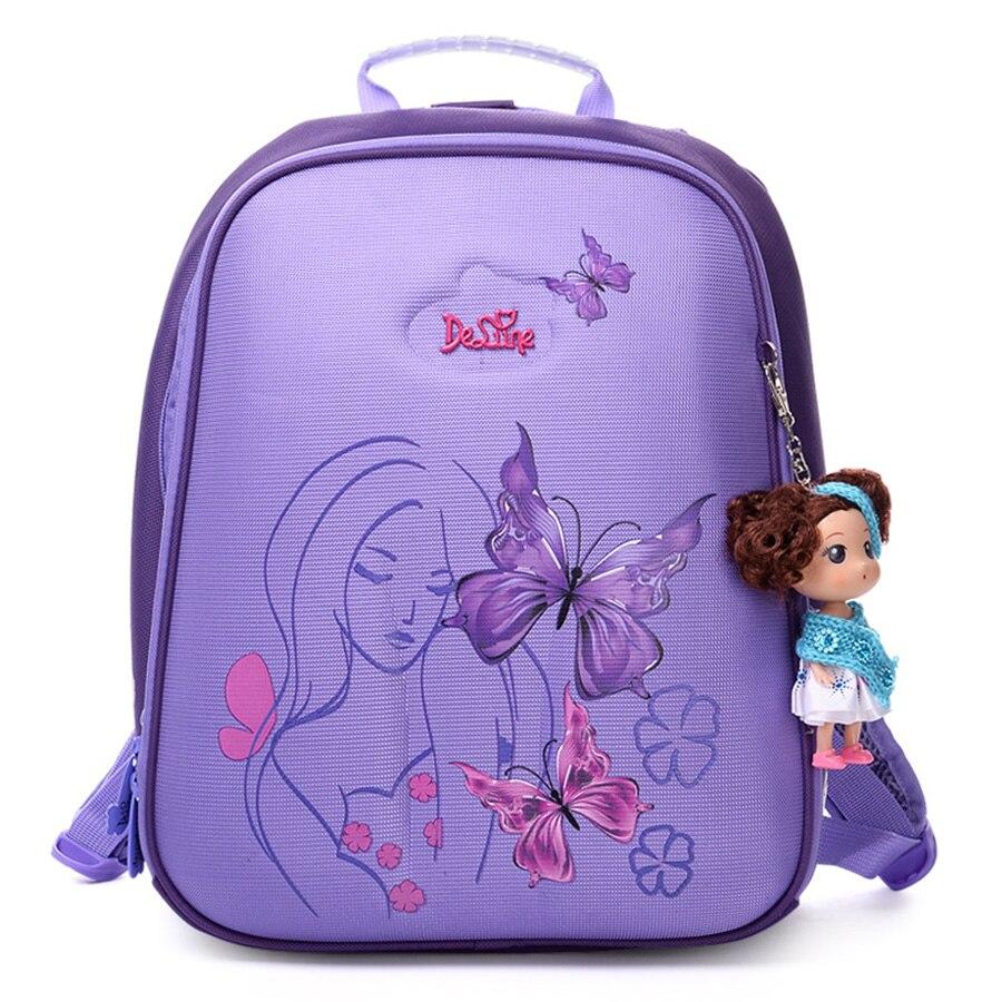 Orthopedic Waterproof Children School Bags For Girls ...