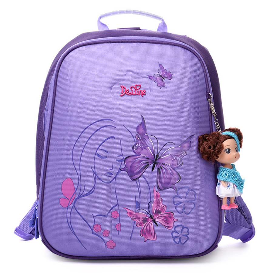 Orthopedic Waterproof Children School Bags For Girls Primary 1 5 Grade font b Kids b font