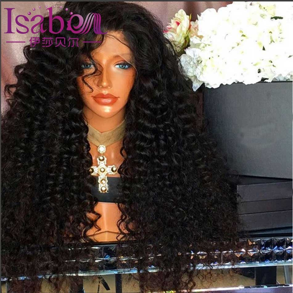 Isabel 9A Loose Deep Wave Human Hair Wigs Glueless Full Lace Human Hair Wigs For Black Women Curly Lace Front Human Hair Wigs (2)
