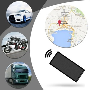 Image 2 - auto micro mini gps tracker car locator track motorcycle gsm gprs sms tracking device for vehicle bike anti theft location