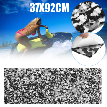 Водный скутер нескользящий морской пол синтетический EVA лист пены 37x92 см черный синий камуфляж водный скутер нескользящий лист 5 мм