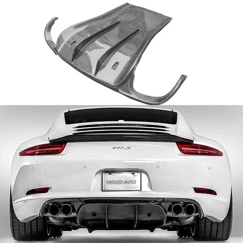 For Porsche 911 Series Carrera 991 Carbon Fiber Rear