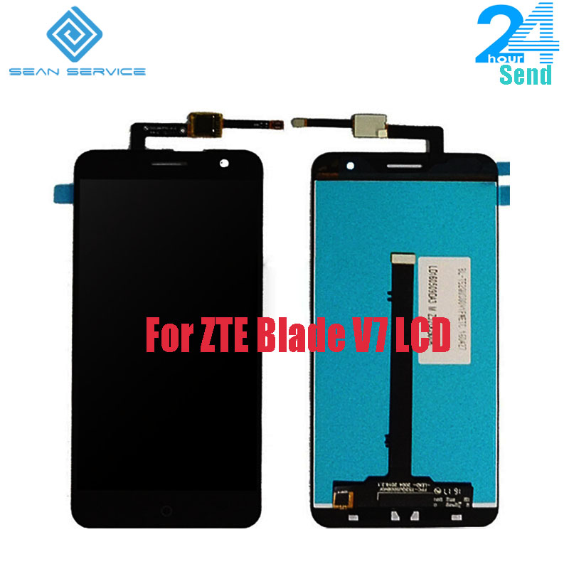 For ZTE Blade V7 LCD Display+Touch Screen Digitizer Assembly Tested 5.2 inch  Blade V7 Android 6.0 1920x1080P LCD Tool