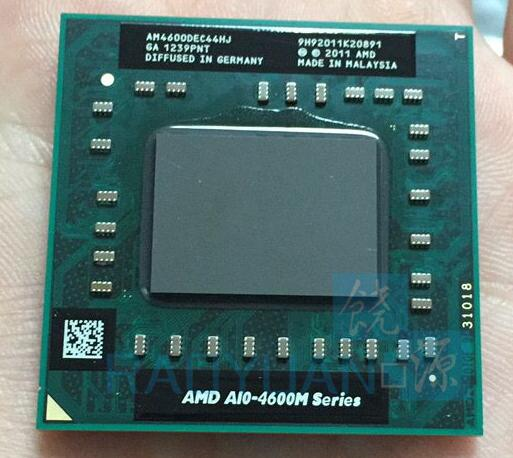 AMD laptop Mobile A10 4600M A10-4600m AM4600DEC44HJ original Socket FS1(FS1R2) CPU 4M Cache/2.3GHz/Quad-Core processor(China)