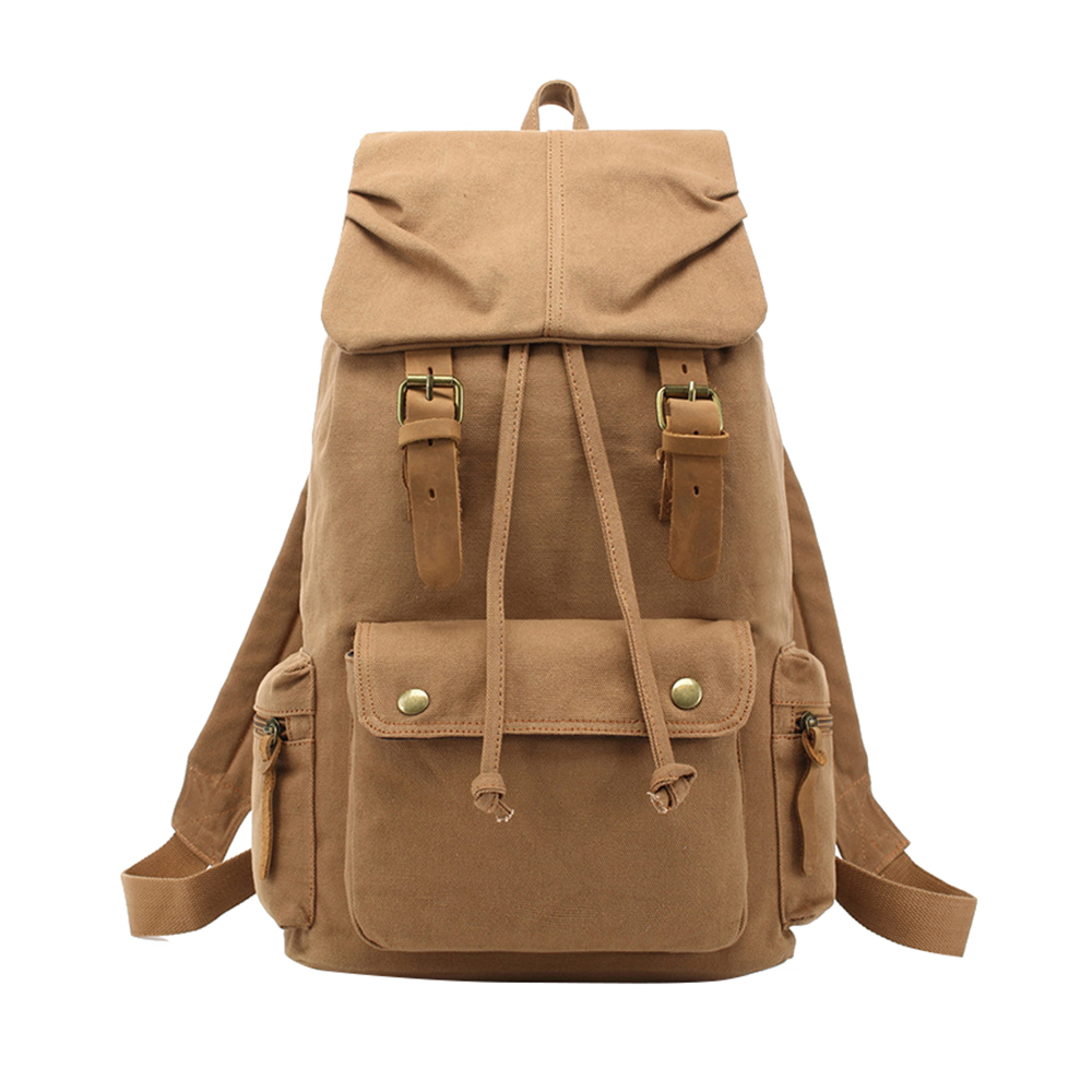 Vintage Rucksack Canvas Backpack Leisure Travel Schoolbag Unisex Laptop Backpacks Men Backpack Male new vintage backpack canvas men shoulder bags leisure travel school bag unisex laptop backpacks men backpack mochilas armygreen