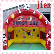 popular giant large big outdoor inflatable sports games/ inflatable football soccer goal post(China)