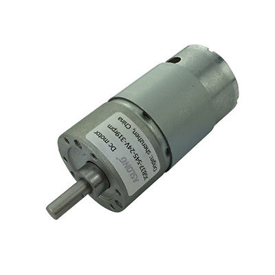JGB37-545 Micro Gear Motor DC Geared Motor DC 24V 6mm Shaft Diameter 7RPM-960RPMJGB37-545 Micro Gear Motor DC Geared Motor DC 24V 6mm Shaft Diameter 7RPM-960RPM
