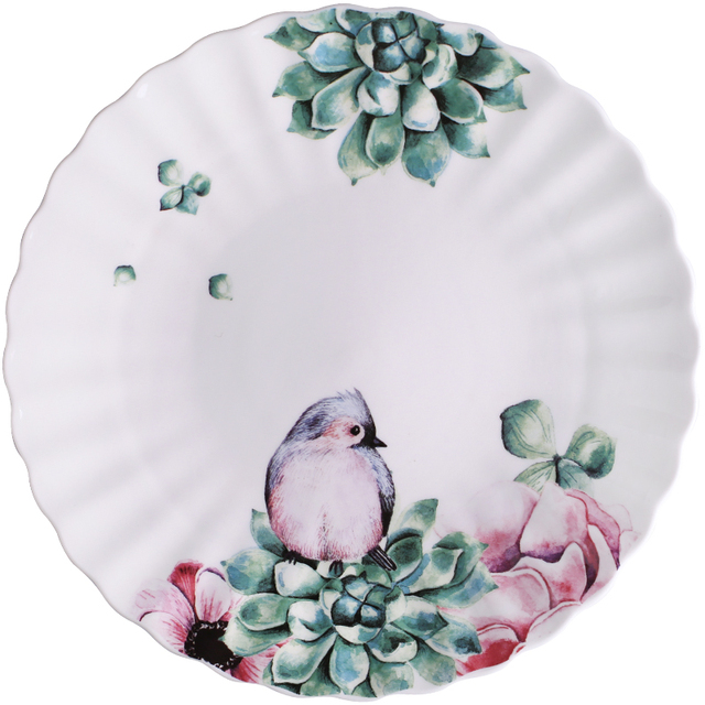 Boho Bird Ceramic Tableware