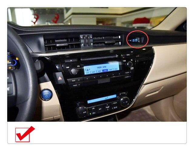 Para Toyota Corolla 2014 2015 2016 4 Pçs/set Consola Central Air Saída De  Ventilação
